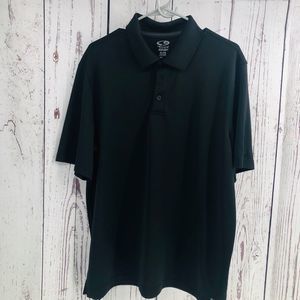 Champion Black Duo-Dry Polo collared comfortable